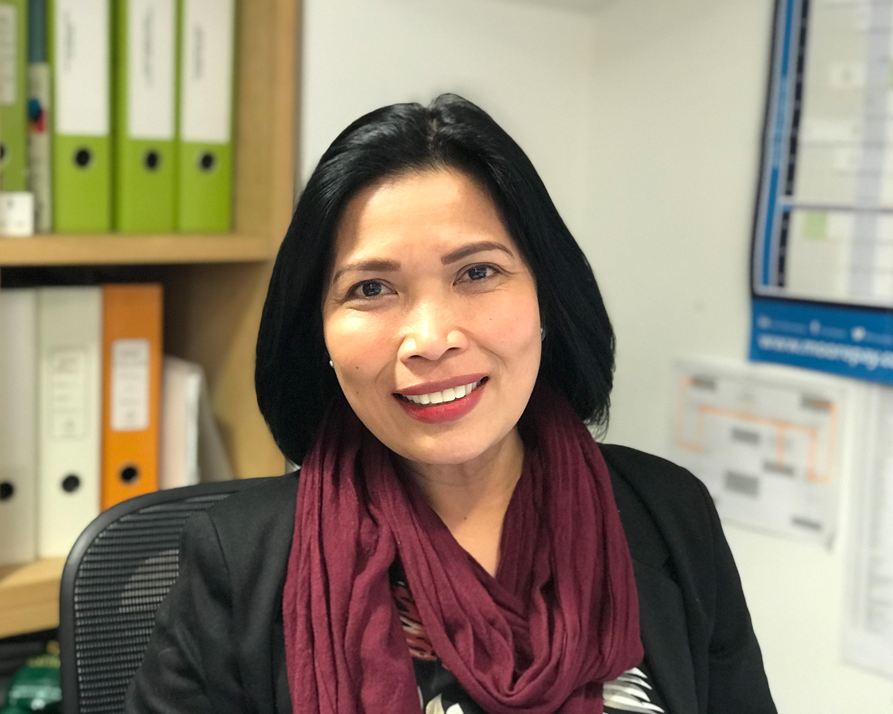 Berna Medina, Office Manager - Dubai - Design International